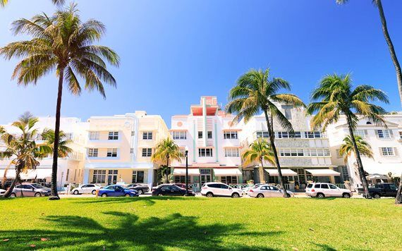 Ocean Drive and South Beach hotels