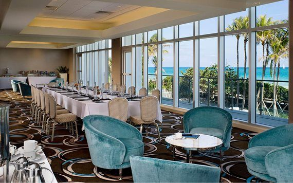 meeting space at Fontainebleau