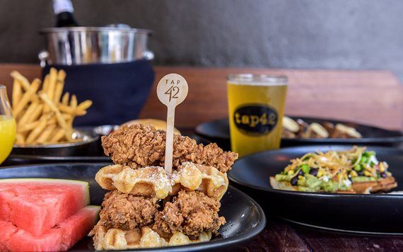 Tap 42 Chicken and Waffles