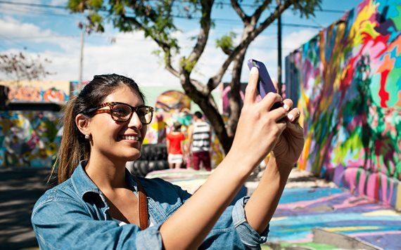 Taking pictures of Wynwood Walls