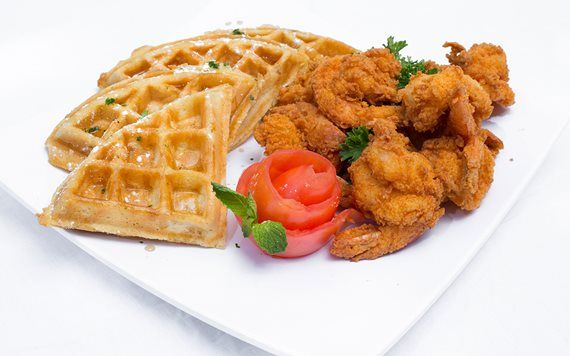 Lovely's Chicken and Waffles