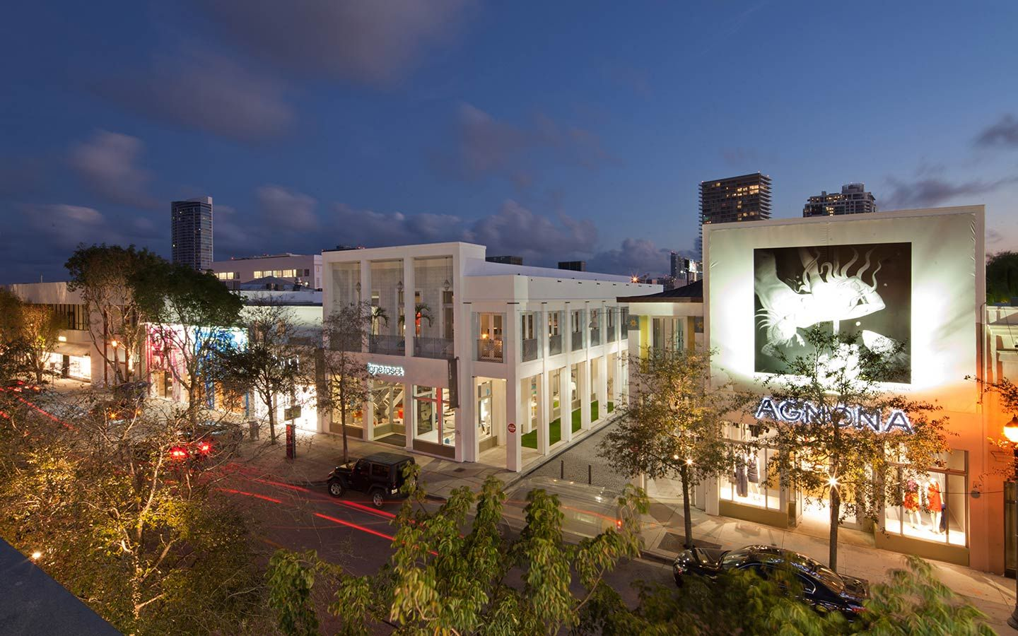 40th Street in the Design District, photo by Robin Hill