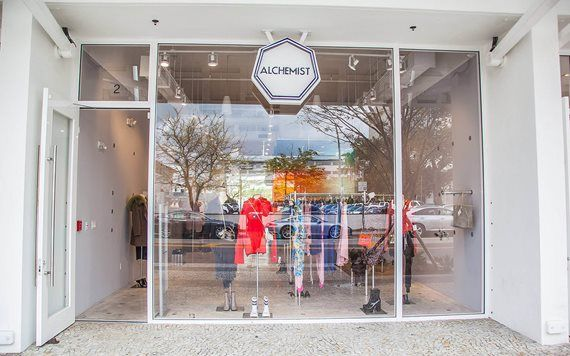The Alchemist on Lincoln Road by Kevin Sprague