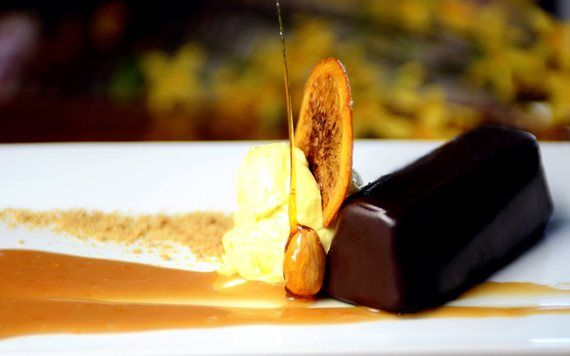 Save room for the hazelnut dessert at Timo
