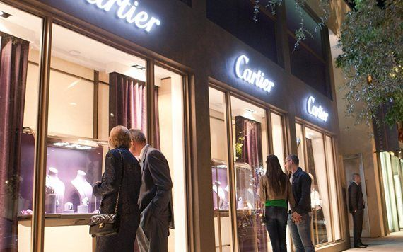 Cartier in the Miami Design District, by Richard Patterson